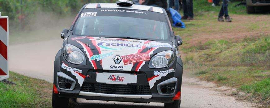 SCHIELE présent au WRC